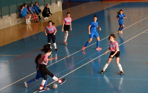 Tournoi FUTSAL U13F du District de l'AIN
